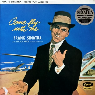 Frank Sinatra - Come Fly With Me (LP) (VG++/EX)